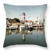 Sono Seaport Throw Pillow