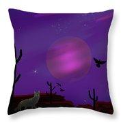 Sonoran Lucid Dream Throw Pillow