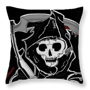 Sons Of Anarchy Logo Throw Pillow