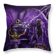 Sons Of Blood And Thunder Throw Pillow