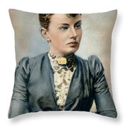 Sonya Kovalevsky (1850-1891) Throw Pillow