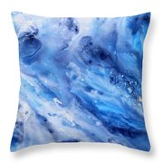 Soothing Waters Throw Pillow