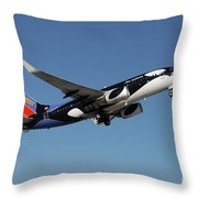 Soouthwest Airlines 737-700 Throw Pillow