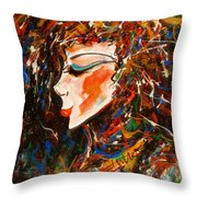Sophisticated Lady Throw Pillow