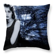 Sophisticated Woman Throw Pillow