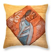 Soprano - Tile Throw Pillow