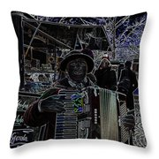 Soprano Altered Art Throw Pillow