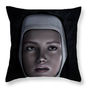 Sor Teresa Throw Pillow