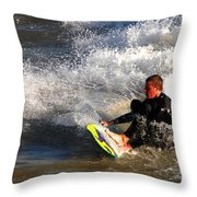 Sorfin' In Socal Throw Pillow