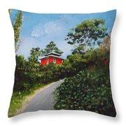 Sorrento Park Throw Pillow