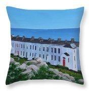 Sorrento Terrace, Dalkey Throw Pillow