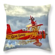 Soucy In Flight Throw Pillow
