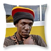 Just A Soul Brother Throw Pillow
