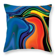 Soul Bird 2 Throw Pillow