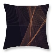 Soul Computer Graphic Line Pattern Throw Pillow