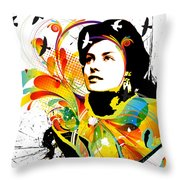 Soul Explosion I Throw Pillow