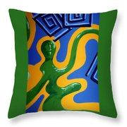 Soul Figures 1 Throw Pillow