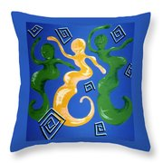 Soul Figures 2 Throw Pillow