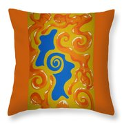 Soul Figures 5 Throw Pillow