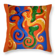 Soul Figures 7 Throw Pillow
