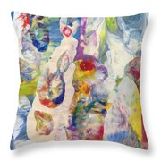 Soul Filled Throw Pillow