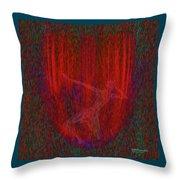 Soul Flames Throw Pillow