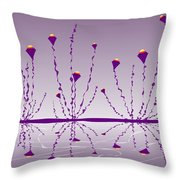 Soul Flowers Throw Pillow