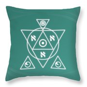 Soul Healing Throw Pillow