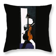 Soul Of Music Throw Pillow