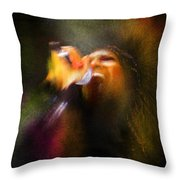 Soul Scream Throw Pillow