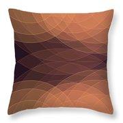 Soul Semi Circle Background Horizontal Throw Pillow