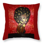 Soul Sista Number Five Throw Pillow