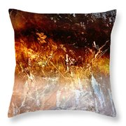 Soul Wave - Abstract Art Throw Pillow