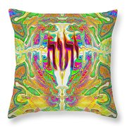 Souls At The Cross Throw Pillow