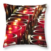Souls Throw Pillow by Diane Greco-Lesser