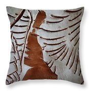 Souls Window - Tile Throw Pillow