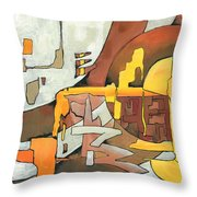 Soulscape Fall Throw Pillow