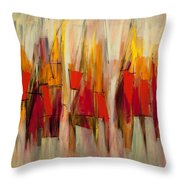 Sound And Fury Two Throw Pillow