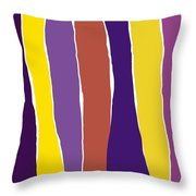 Sound Of Colors Throw Pillow