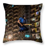 Sound Of Music? And The Sight Too Throw Pillow
