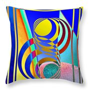 Soundings Throw Pillow