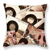 Sounds Of Then - Remembering The 80s I Throw Pillow