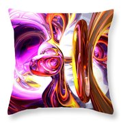 Soundwave Abstract Throw Pillow