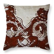 Sources  - Tile Throw Pillow