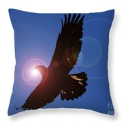 Souring Spirit Throw Pillow