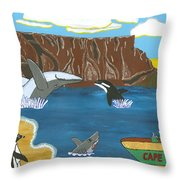 South Africa Cape Town   Oct Throw Pillow