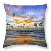 South Beach 12260 Throw Pillow