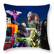 South Beach Throw Pillow by Jean raphael Fischer