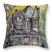 South Bound Throw Pillow