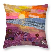 South Carolina Dawn Throw Pillow